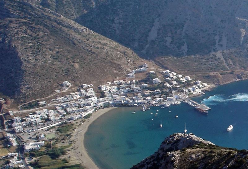 Τοποθεσία Διαμερισμάτων - Mare Nostrum Sifnos